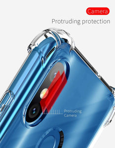 YOFO Back Cover for SAMSUNG M20 - Transparent