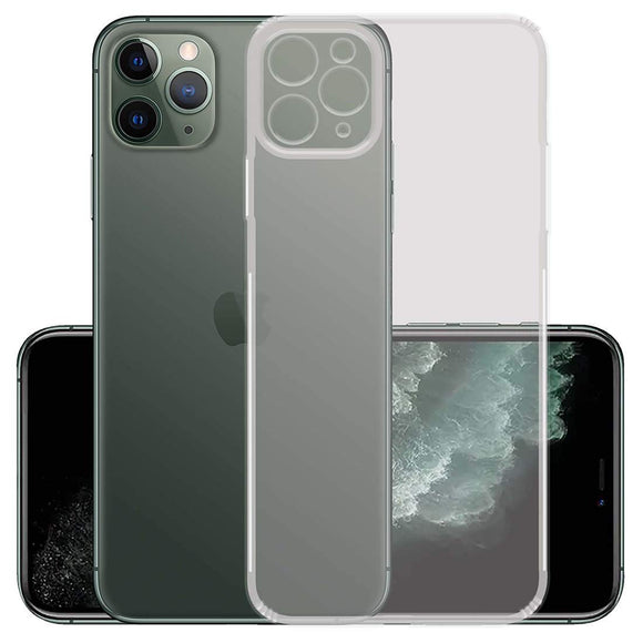 YOFO Professional Full Protection Back Cover for Apple iPhone 11 Pro MAX (Transparent) 6.5 Inch