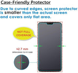 YOFO Anti Glare Matte Finish Anti-Fingerprint 9H Tempered Glass Screen Protector for MI Redmi Note 6 Pro (Transparent)