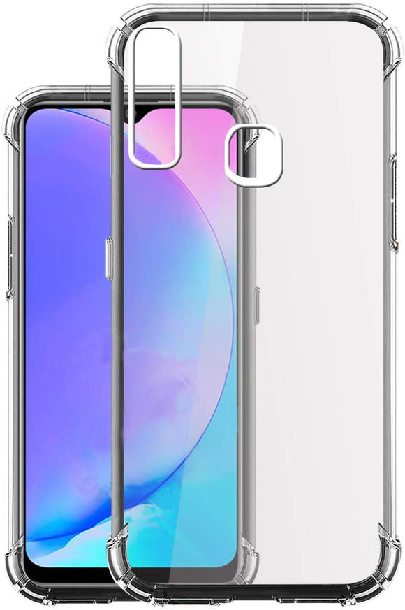 YOFO Shockproof Back Cover for Vivo Y17 / Vivo Y15 / Vivo Y12 - All Sides Protection Case