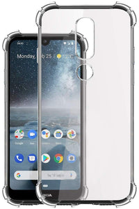YOFO Transparent All Sides Protection Back Cover for Nokia 4.2 (Transparent)