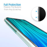 YOFO Silicon Full Protection Back Cover for MI Redmi Note 8 (Transparent)
