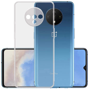 YOFO Silicon Full Protection Back Cover for OnePlus 7T (Transparent) Shockproof Ultra Thin