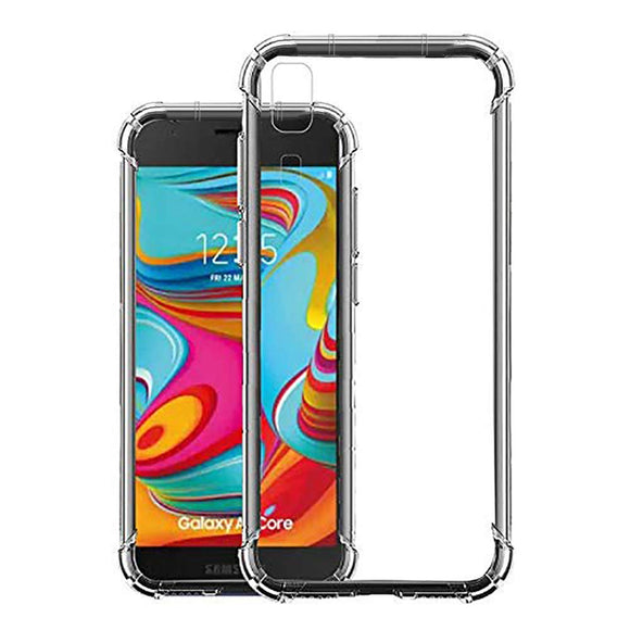 YOFO Flexible Shockproof Back Cover for Samsung A2CORE - All Sides Protection Case