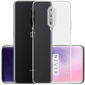 YOFO Silicon Full Protection Back Cover for OnePlus 7 Pro {1+7PRO} (Transparent) Shockproof Ultra Thin