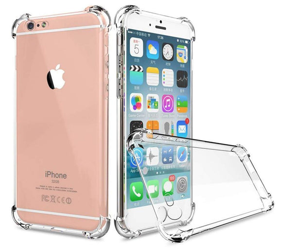 YOFO  Back Cove for Apple iPhone 7 /iPhone 8 Ultra Thin Shock Proof (Transparent