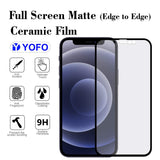 YOFO Mattte Finish Anti-Fingerprint Ceramic Flexible Screen Protector for iPhone 12Pro (6.1)