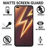 YOFO Mattte Finish Anti Glare Anti-Fingerprint (Full Edge to Edge) Ceramic Flexible Screen Protector for Realme 6 pro