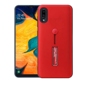YOFO Fashion Case Full Protection Back Cover for Samsung M10 (RED)