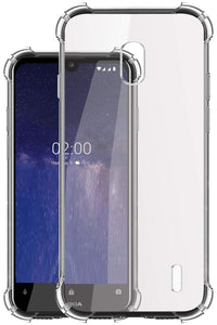 YOFO Transparent All Sides Protection Back Cover for Nokia 2.2 (Transparent)