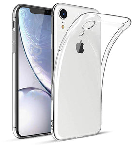 YOFO Back Cover for iPhone XR (Transparent) with Dust Plug & Camera Protection