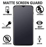 YOFO Anti Glare Matte Finish Anti-Fingerprint 9H Screen Protector for MI Redmi Note 8 Pro (Transparent)