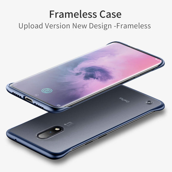 YOFO TPU Frameless case for OnePlus 6T(Blue)
