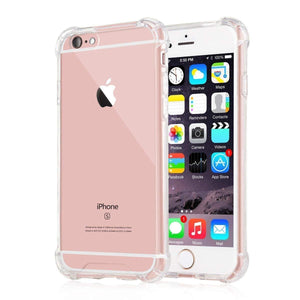 YOFO Ultra Thin Back Cover for iPhone 6 Plus/ 6S Plus 5.5 in Screen (Transparent)