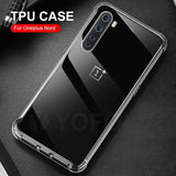 YOFO Camera Protection Back Cover for OnePlus Nord (Transparent) Shockproof