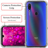YOFO TPU Full Protection Back Cover for MI REDMI Y3 / REDMI 7 (Transparent)