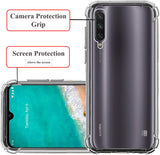 YOFO Shockproof Soft Transparent Back Cover for MI A3 - All Sides Protection Case