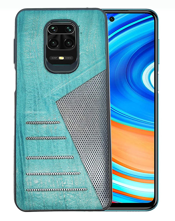 YOFO | The Case with Look | Leather Premuim Back Case Cover for MI Note 9 Pro/Note 9 Pro Max/Poco M2 ProRedmi