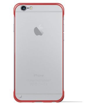 YOFO TPU Frameless case for iPhone-6 (RED)