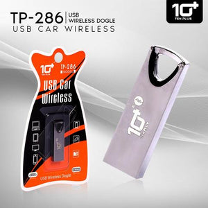 TENPLUS USB Car/ Speaker Wireless Dogle TP-286 (Stainless Still)