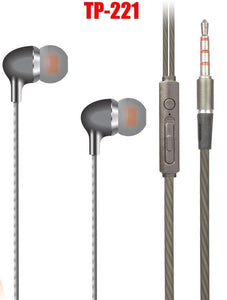 Ten Plus TP-221  in-Ear Super Extra Bass Earphone (High Quality)
