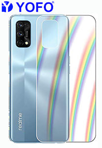 YOFO Rainbow Effect Anti Scratch Back Screen Guard for Realme 7Pro