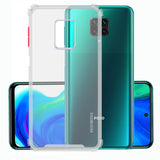 YOFO Silicon Flexible Smooth Matte Back Cover for MI Note 9 Pro/Note 9 Pro Max/Poco M2 Pro(Transparent)