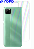 YOFO Rainbow Effect Anti Scratch Back Screen Guard for Realme C11