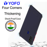 YOFO Silicon Flexible Smooth Matte Back Cover for Samsung M21 / M30s(SMOKE)