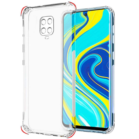 YOFO Silicon Full Protection Back Cover for MI Redmi Note 9 Pro / Note 9 Pro Max (Transparent)