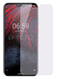 YOFO Anti Glare Matte Finish Anti-Fingerprint 9H Hammer Glass Screen Protector for Nokia 6.1 Plus