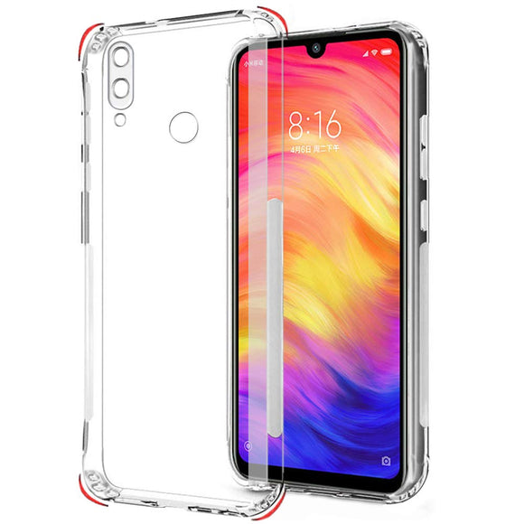 YOFO Silicon Full Protection Back Cover for MI Redmi Note 7 / Note 7 Pro / Note 7S (Transparent)