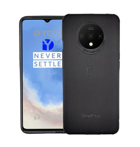 YOFO Creative Case Back Cover for OnePlus 7T Shockproof (Black)