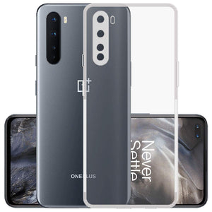 YOFO Silicon Full Protection Back Cover for OnePlus Nord (Transparent) Shockproof Ultra Thin