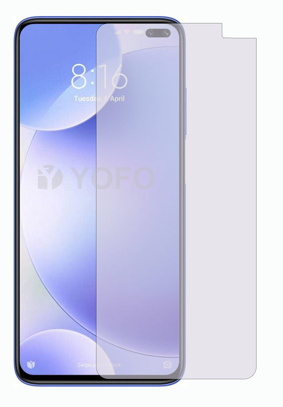 YOFO Anti Glare Matte Finish Anti-Fingerprint 9H 100% Tempered Glass Protector for Mi Redmi Poco X2
