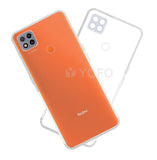 YOFO Back Cover for Mi Redmi 9 (Transparent) with Dust Plug & Camera Protection