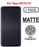YOFO Anti Glare Matte Finish Anti-Fingerprint 9H Hammer Glass Screen Protector for Oppo Reno 2f
