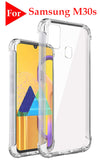 YOFO Shockproof Soft Transparent Back Cover for Samsung M21 - (Transparent)