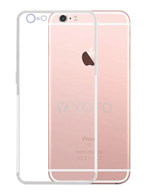 YOFO Back Cover for iPhone 6Plus (Transparent) with Dust Plug & Camera Protection