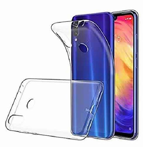 YOFO Simple Plain  Back Cover for MI Redmi Note 7 Pro/Note 7 / Note 7S (Transparent)
