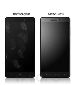 YOFO Anti Glare Matte Finish Anti-Fingerprint Screen Protector for MI Redmi 7A (Transparent)
