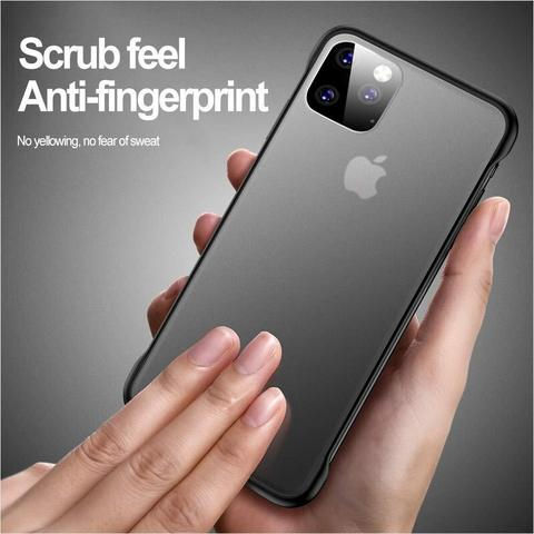 YOFO TPU Frameless case for iPhone-11Pro (BLACK)