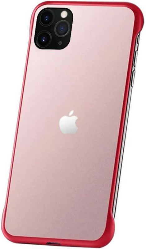 YOFO TPU Frameless case for iPhone-11Pro (RED)