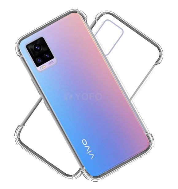 YOFO Shockproof Back Cover for Vivo V20 - All Sides Protection Case
