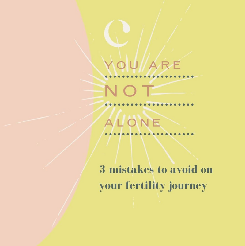 Common fertility mistakes