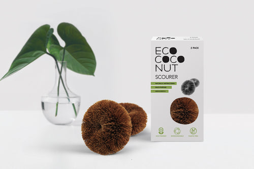 Ecococonut Twin Pack Cleaning Scourers