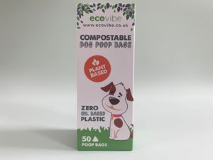 Ecovibe Compostable Dog Poo Bags