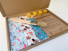 Load image into Gallery viewer, Animal Pretty Bee Fresh DIY Beeswax Wrap Kit