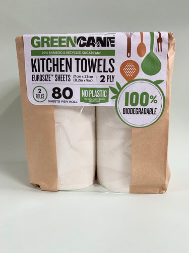 Greencane Kitchen Rolls- Pack of 2