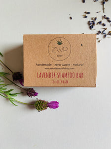 Zero Waste Path Lavender Shampoo Bar